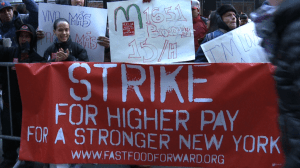 fast food workers pay