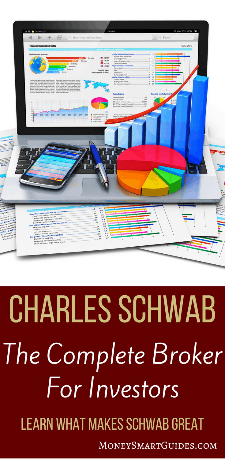 Charles Schwab: The Best Online Broker | Are you looking for an online broker that will wow you? I think I have the one for you. Click through and see why they are the best for investors, regardless is you are an active trader or a buy and hold investor.