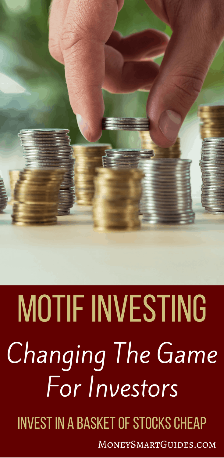 Motif Investing Review: A Game Changer For Stock Investors | I love trading stocks, but it is expensive! Since I've found Motif, investing in stocks is cheap. I can invest in a bucket of stocks for one low price. If you are a stock investor looking to save money on trading fees, click through to learn more!