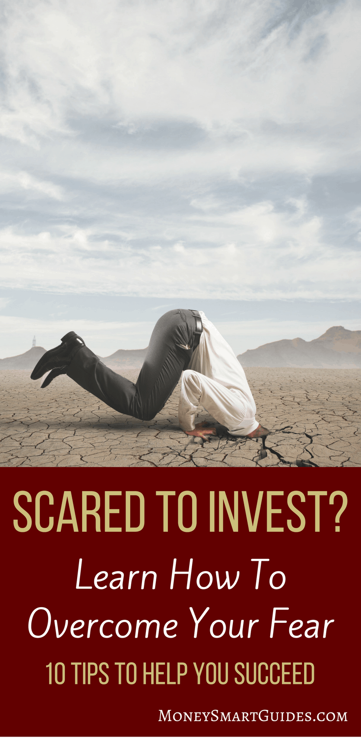A Delightfully Simple Plan To Invest When You Are Scared Of The Stock Market | If the stock market scares you, you need a plan to overcome your fear so you can start investing. Learn how to overcome your fears and invest with confidence. Click through to learn how!