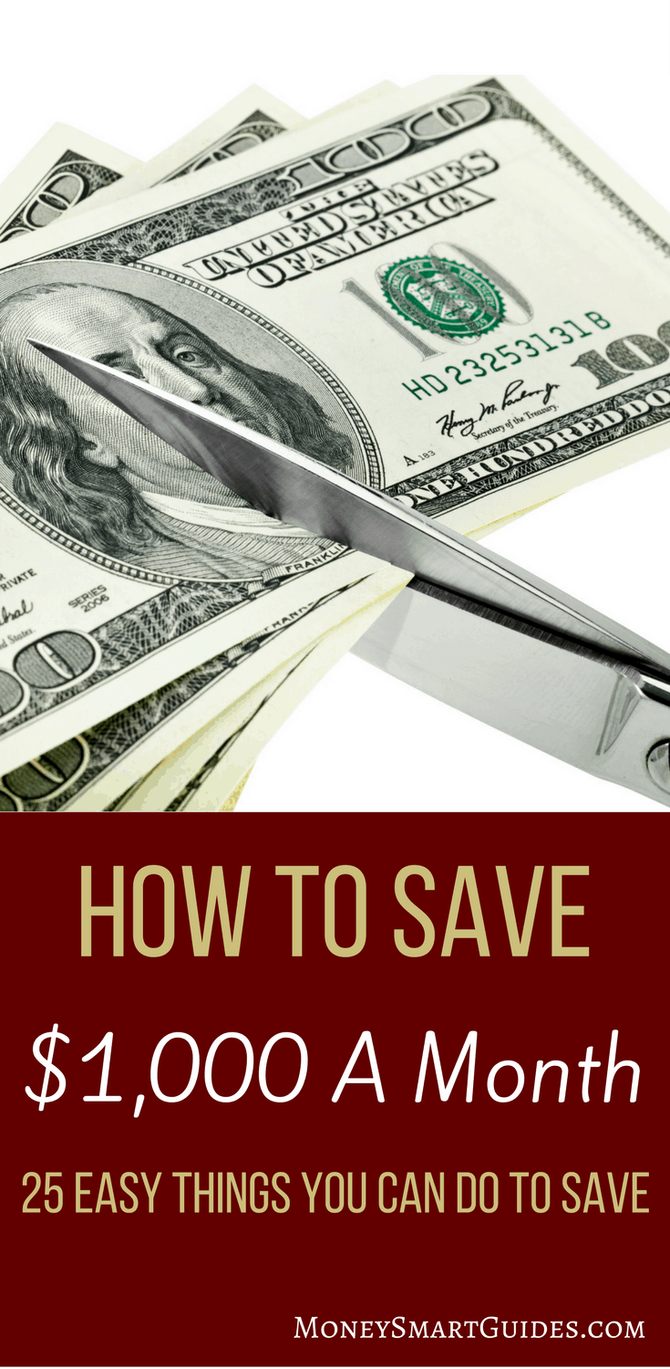 Instantly Cut Your Monthly Expenses And Save Over $1,000 A Month | If you want to break free from money being tight, I'll show you how to save money fast. Over 25 tips, tricks and ideas to save money on groceries, cable, cell phone and more. Click through to read the post!