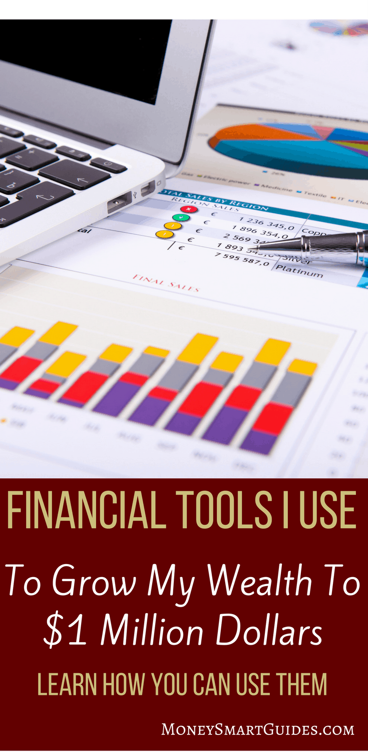 Financial Tools This Insider Uses To Manage Their Money | Do you want to be better at your finances? I've gone from $10,000 in debt to $1,000,000 of net worth. Learn the tools I use to grow my wealth. Ideas for saving, paying off debt, making money and investing. Click through to read the post!