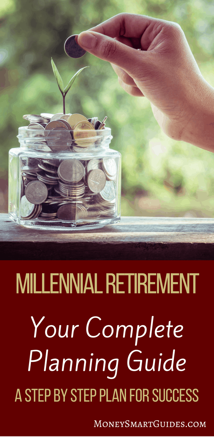The Definitive Guide For Millennials To Save For Retirement   If you are a millennial and you want to retire one day, you have to start taking some small steps today. Click through to learn what to do now so you can retire!