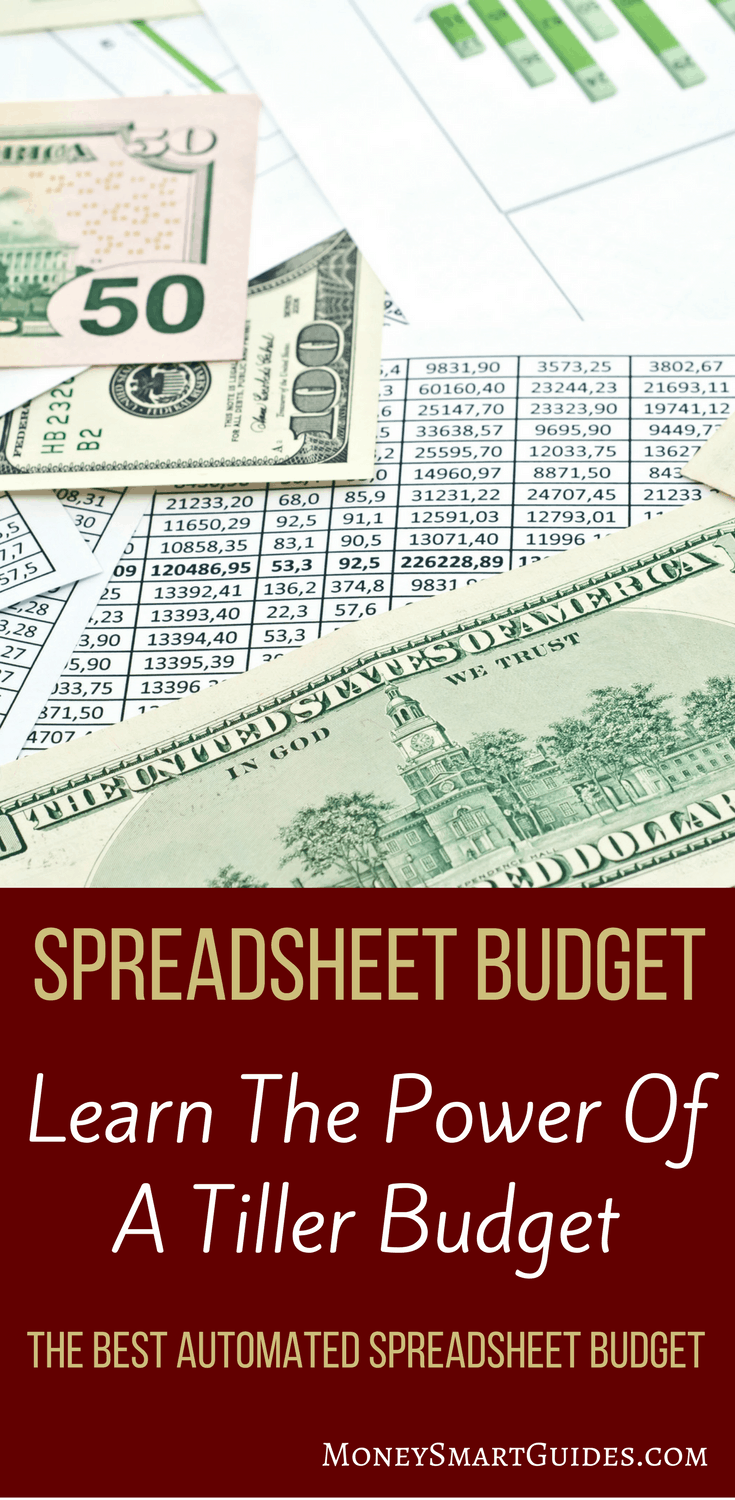 The Simplest Spreadsheet Budget Available: Introducing Tiller | Do you love budgeting with a spreadsheet but wish it wasn't so time consuming? Say hello to Tiller. Click through to learn why this is the best spreadsheet budget available!