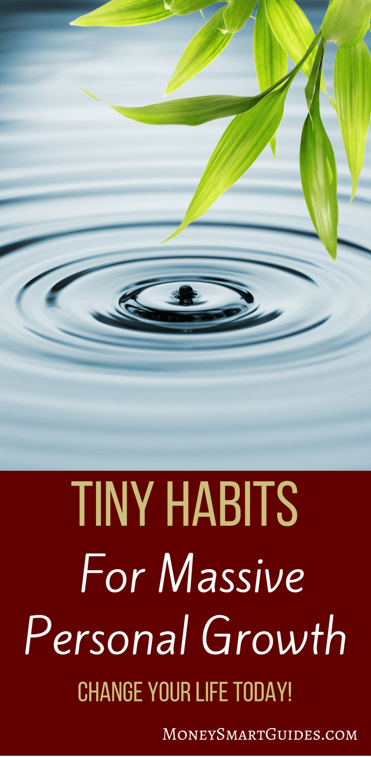 Using Painless Tiny Habits For Massive Personal Growth   Do you know that you can use painless tiny habits that will have a dramatic impact on your life? Learn how to be successful and reach your goals with little effort. Click through to learn more!