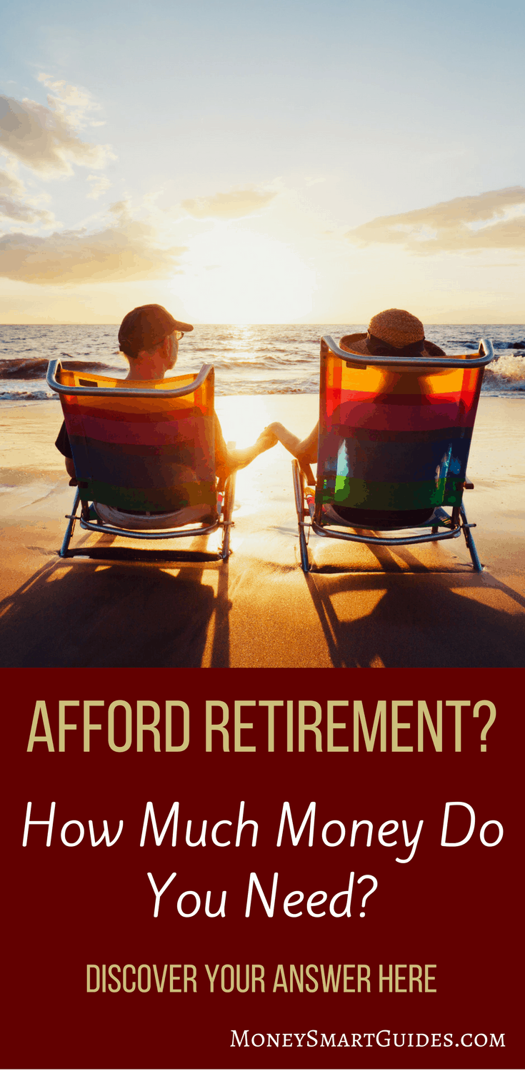 How Much Money Do You Need For Retirement? Discover Your Answer Here | Are you wondering how much money you need for retirement? Trying to come up with a plan for affording retirement? Click through to learn some simple tricks to determine exactly how much money you need for retirement!