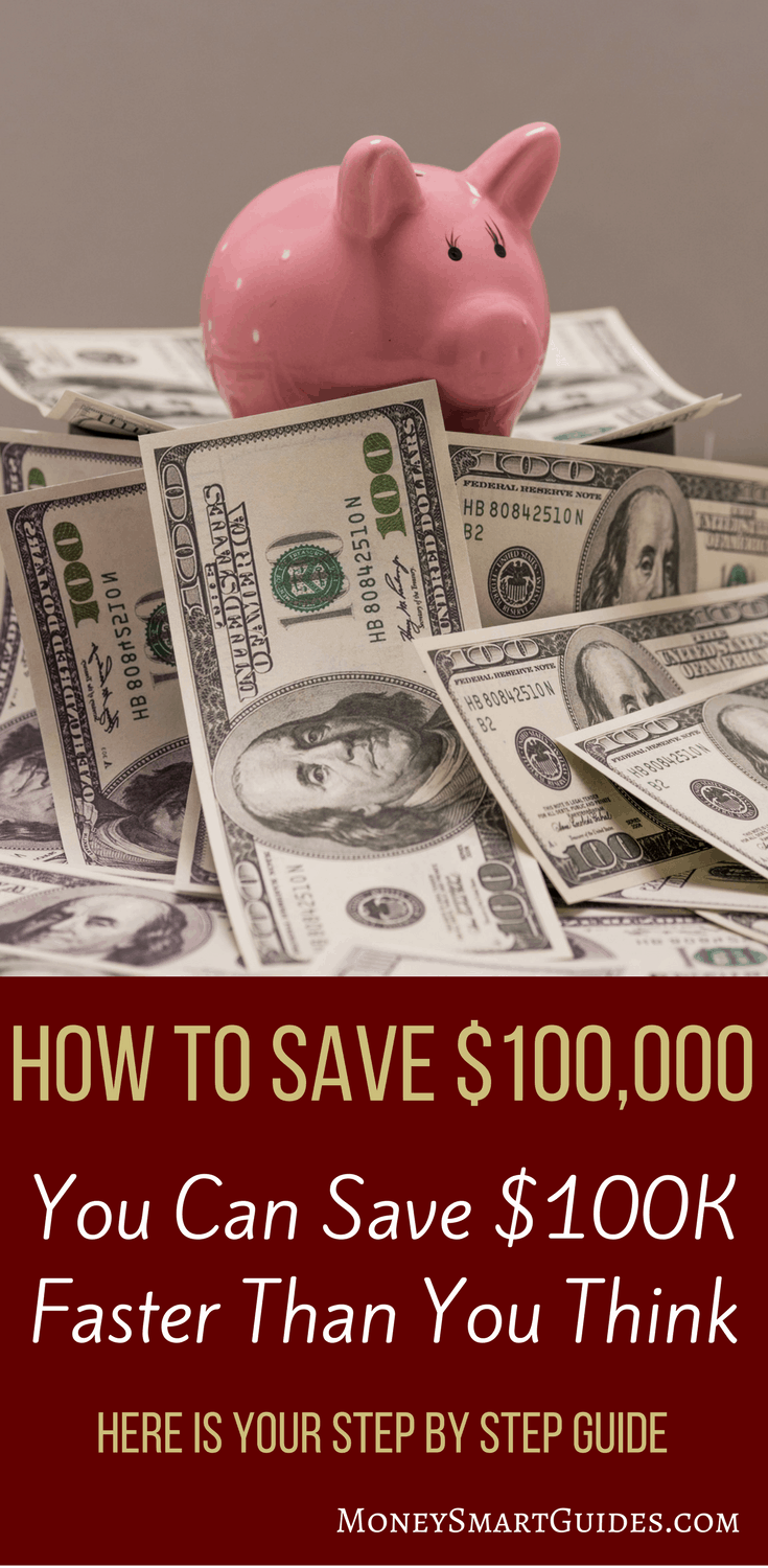 How To Save $100,000: Your Free Cheat Sheet | Are you looking to save more money and break the cycle of living paycheck to paycheck? Click through to learn the simple steps to save $100,000 faster than you thought possible!