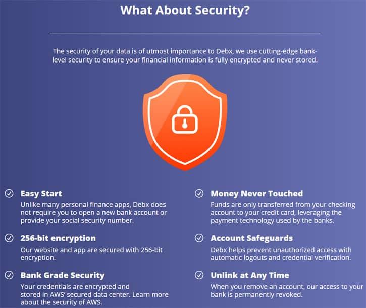 debx app security