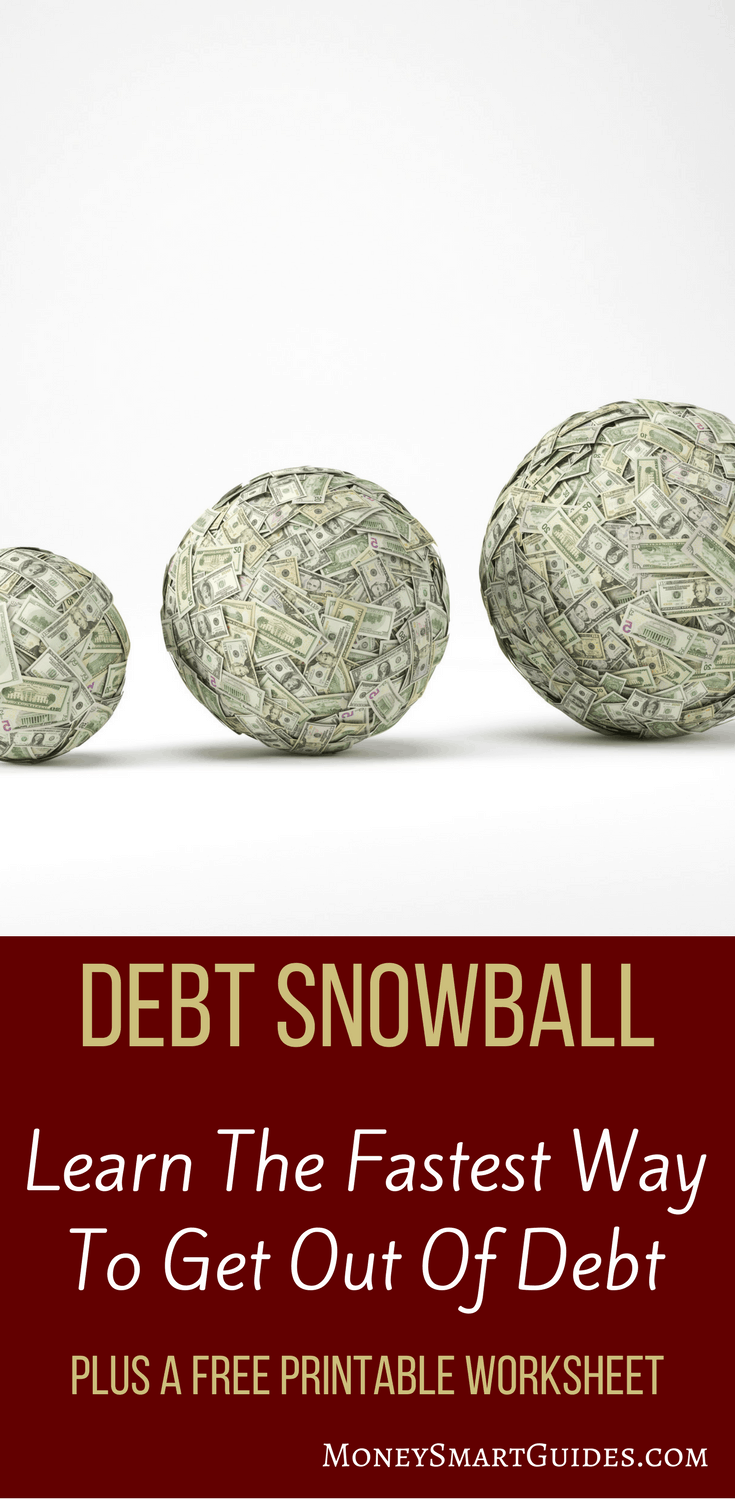 Your Ultimate Debt Snowball Plan | Do you want to get out of debt but not sure what the best strategy is to pay off your debt? Learn about the debt snowball and debt avalanche methods here. You'll also get access to a print debt payoff printable! Click here to get your copy!
