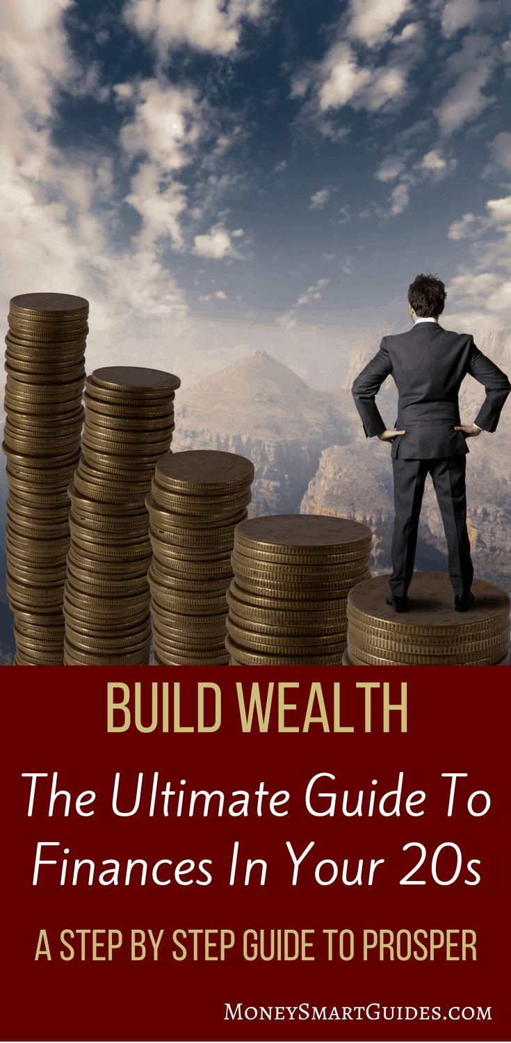 How To Build Wealth In Your 20s: Your Ultimate Guide   If you are in your 20s, this is a must read on getting your finances in order. It covers everything financial - learning to budget, how to save money, how to build wealth, starting to invest, paying off student loans, and covers financial goals as well. Click through to read!