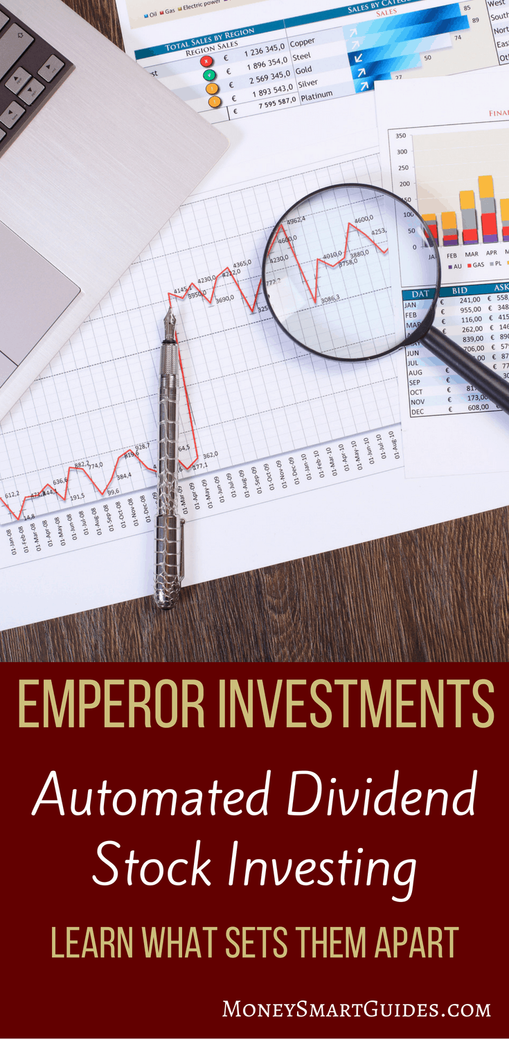 Emperor Investments Review | Do you want to start investing but don't like the robo-advisor options? I found Emperor Investments which is a twist on automated investing by investing in dividend paying stocks. Click through to learn more!